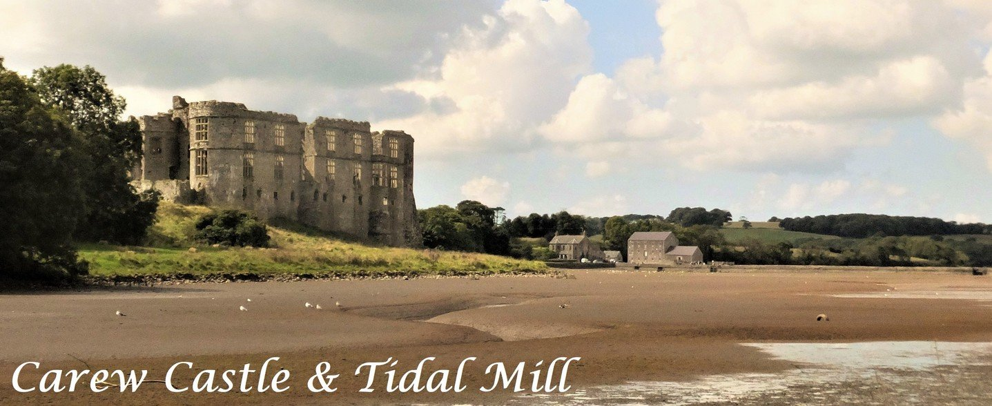5_Carew Castle and Tidal Mill